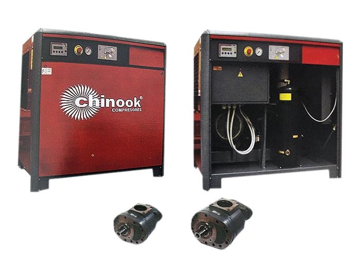 Compresor Chinook a Tornillo